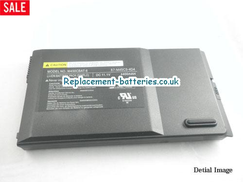 image 5 for  MOBINOTE M450C laptop battery