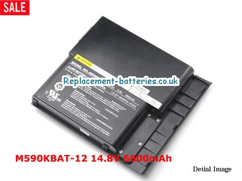 image 1 for  AURORA MALX M590 laptop battery