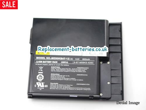 image 2 for  6-87-M59KS-4K62 laptop battery