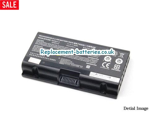 image 1 for  Genuine Clevo PB50BAT-6 Battery 3INR19/66-2 11.1v 62Wh Li-ion In United Kingdom And Ireland laptop battery