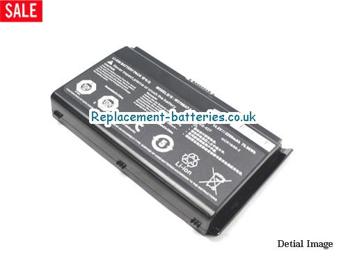 image 4 for  6-87-W37SS-427 laptop battery