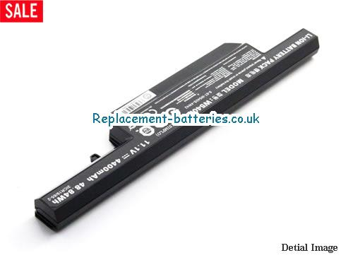 image 2 for  New Genuine W540BAT-6 6-87-W540S-427 Laptop Battery For Clevo W540, W540EU W54EU W550 W550EU W55EU In United Kingdom And Ireland laptop battery