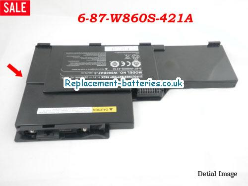 image 4 for  W860CU laptop battery