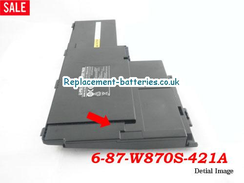 image 5 for  6-87-W870S-421A laptop battery