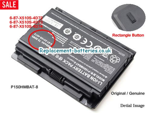 image 1 for  P151 laptop battery