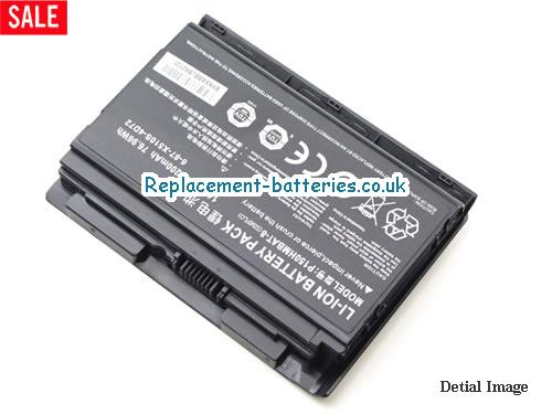 image 2 for  Genuine Clevo 6-87-X510S-4D72 P150HMBAT-8 P150 P150EM PC Battery In United Kingdom And Ireland laptop battery