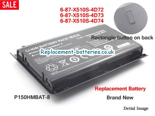 image 1 for  6-87-X510S-4D72 laptop battery
