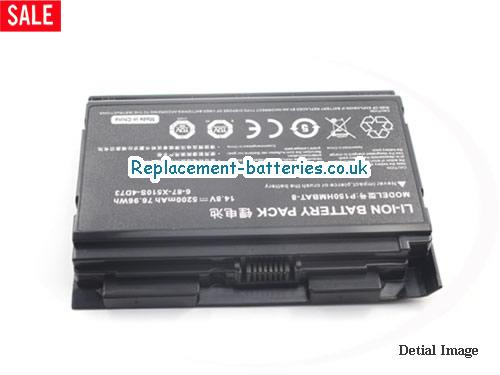 image 3 for  6-87-X510S-4D72 laptop battery