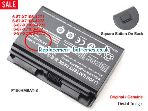 image 1 for  P170EM laptop battery