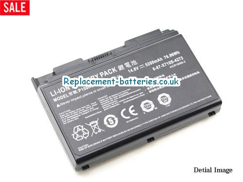 image 2 for  P170EM laptop battery