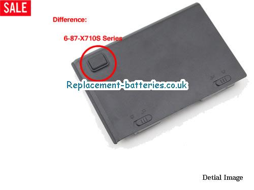 image 3 for  6-87-X710S-4J7 laptop battery