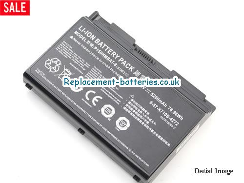 image 4 for  P170EM laptop battery