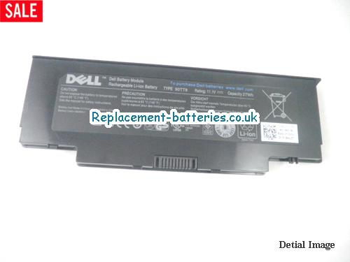 image 5 for  Genuine Dell 90TT9, 60NGW Laptop Battery 27wh-3cells In United Kingdom And Ireland laptop battery