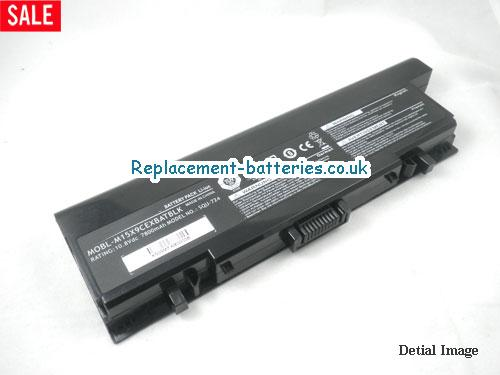 image 1 for  Dell SQU-724, SQU-722, MOBL-M15X9CEXBATBLK, Alienware M15X Battery 9-Cell In United Kingdom And Ireland laptop battery