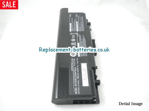 image 4 for  Dell SQU-724, SQU-722, MOBL-M15X9CEXBATBLK, Alienware M15X Battery 9-Cell In United Kingdom And Ireland laptop battery