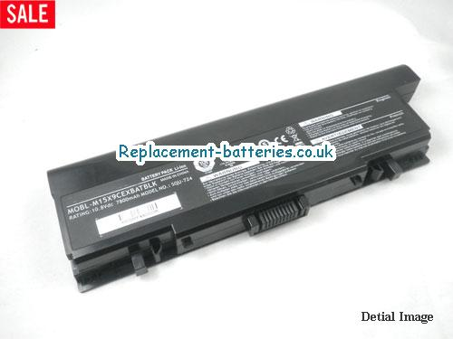 image 5 for  Dell SQU-724, SQU-722, MOBL-M15X9CEXBATBLK, Alienware M15X Battery 9-Cell In United Kingdom And Ireland laptop battery