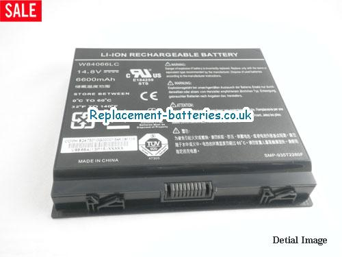 image 3 for  Genuine W83066LC W84066LC Battery For Dell Alienware M17 M9700 M9750 M9700i Laptop 12-Cell In United Kingdom And Ireland laptop battery