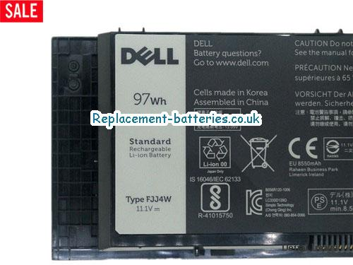 image 2 for  FJJ4W Battery For Dell Precision M6600 M6700 M6800 In United Kingdom And Ireland laptop battery