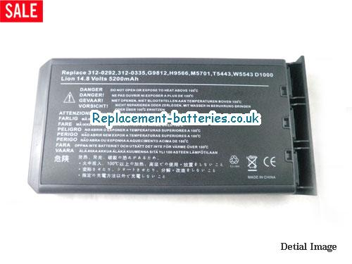 image 5 for  INSPIRON 1200 laptop battery