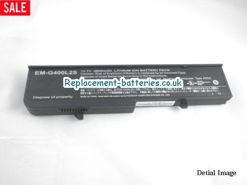 image 5 for  EM-G400L2S laptop battery