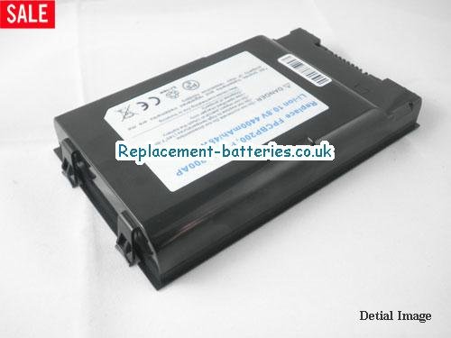 image 2 for  UK 4400mAh Long Life Laptop Battery For Fujitsu-siemens LifeBook T5010, LifeBook T1010,  laptop battery
