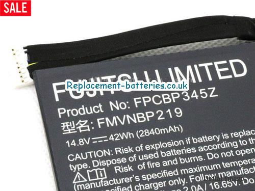 image 2 for  Genuine Fujitsu FMVNBP219 FPB0280 FPCBP345Z Battery 42wh In United Kingdom And Ireland laptop battery