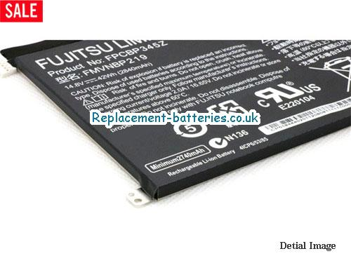 image 3 for  Genuine Fujitsu FMVNBP219 FPB0280 FPCBP345Z Battery 42wh In United Kingdom And Ireland laptop battery