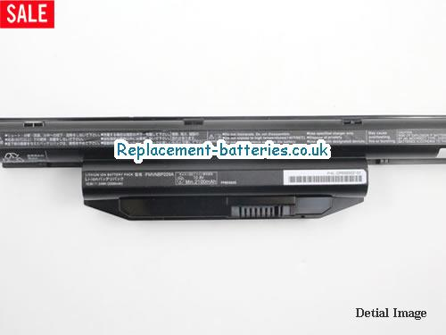 image 5 for  LIFEBOOK AH564 laptop battery