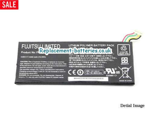 image 5 for  FUjitsu Limited FPCBP324 Battery 4200mah 15.3Wh In United Kingdom And Ireland laptop battery