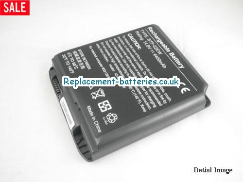 image 1 for  UK 4400mAh Long Life Laptop Battery For Aopen BTP-90BM, BTP-89BM, BTP-52EW, 90.NBI61.011,  laptop battery