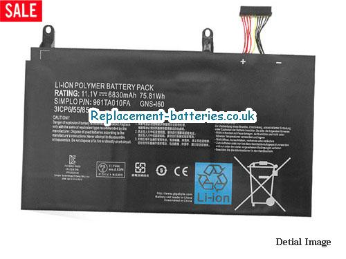 image 5 for  P57W laptop battery