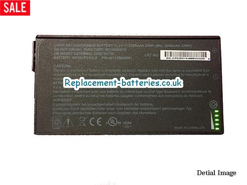 image 1 for  Genuine BP3S1P2100-S Battery For Getac V110  441129000001 In United Kingdom And Ireland laptop battery