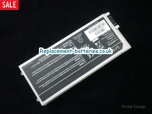 image 1 for  New Gateway Li4405A Battery 4400mAh 11.1V 6 Cell White In United Kingdom And Ireland laptop battery