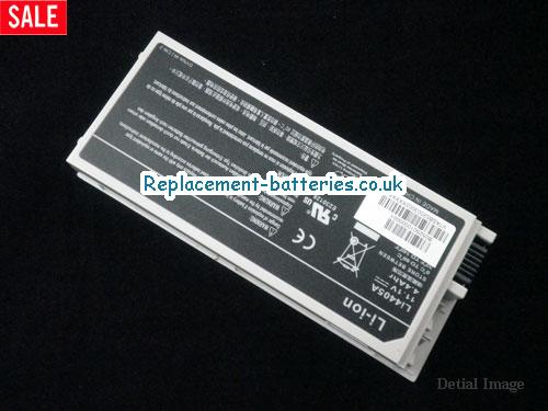 image 2 for  New Gateway Li4405A Battery 4400mAh 11.1V 6 Cell White In United Kingdom And Ireland laptop battery