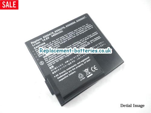 image 2 for  6500478 laptop battery