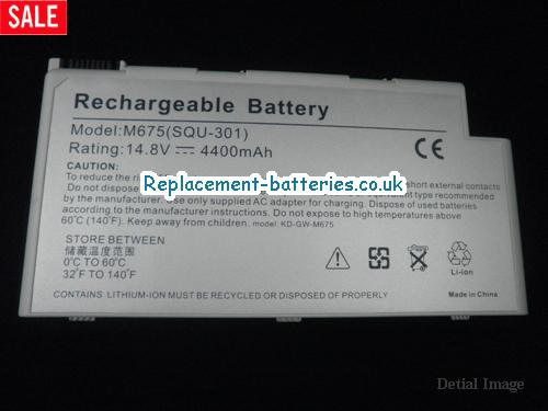 image 5 for  M675XL laptop battery