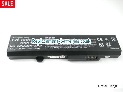image 5 for  PST 3800#8162 laptop battery