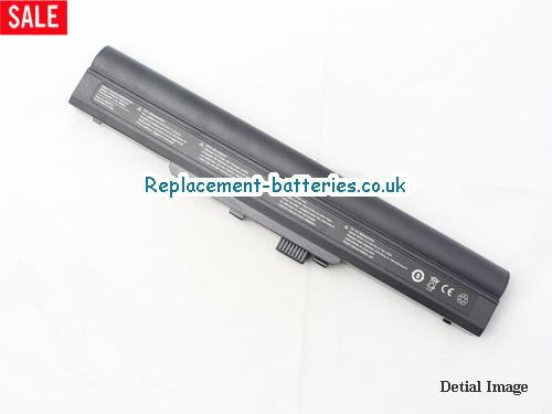 image 2 for  Genuine HASEE S20 4S4400 Series Battery S20-4S4400-B1B1 14.8V 4400MAH In United Kingdom And Ireland laptop battery