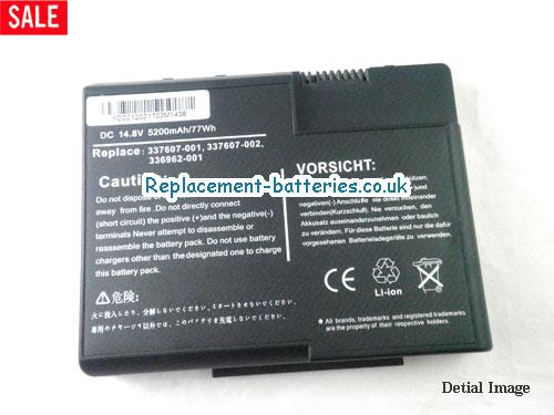 image 5 for  PRESARIO X1360US laptop battery