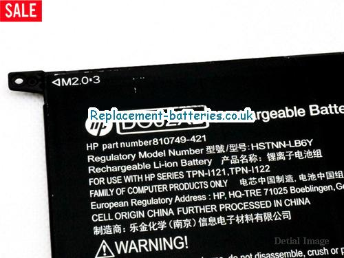 image 2 for  HP DO02XL HSTNN-LB6Y Battery For PAVILION X2 SERIES In United Kingdom And Ireland laptop battery