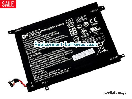 image 5 for  HP DO02XL HSTNN-LB6Y Battery For PAVILION X2 SERIES In United Kingdom And Ireland laptop battery