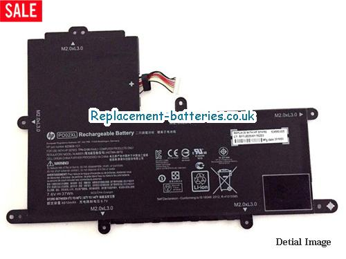 image 1 for  HP PO02XL Laptop Battery 824560-005 HSTNN-DB7G In United Kingdom And Ireland laptop battery