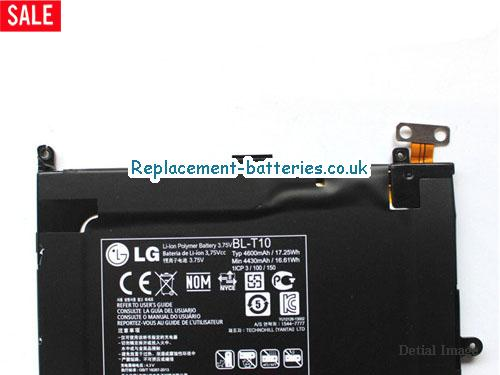 image 2 for  Genuine LG BL-T10 Battery For Optimus GPad V500 Series In United Kingdom And Ireland laptop battery