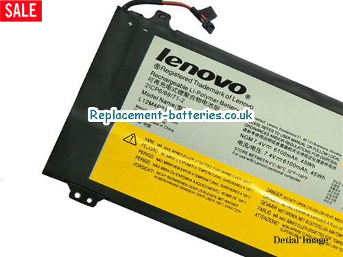 image 2 for  Genuine Lenovo L12M4P61 Battery For IdeaPad U330 Series In United Kingdom And Ireland laptop battery