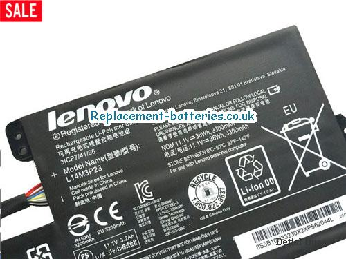 image 2 for  Genuine Lenovo 14M3P23 Battery 3300mah 36wh In United Kingdom And Ireland laptop battery