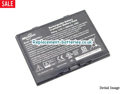 image 1 for  43Wh Genuine Motion BATZSX00L4 Battery Pack In United Kingdom And Ireland laptop battery