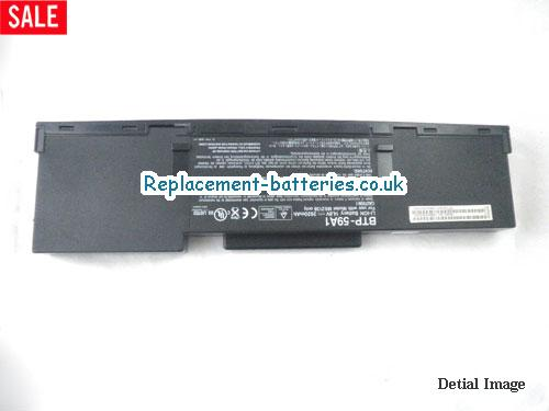 image 5 for  TRAVELMATE 252ELC laptop battery