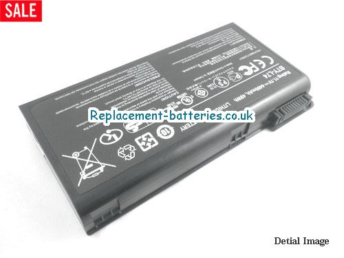 image 2 for  UK 4400mAh, 49Wh  Long Life Laptop Battery For Celxpert BTY-L74, 91NMS17LD4SU1,  laptop battery