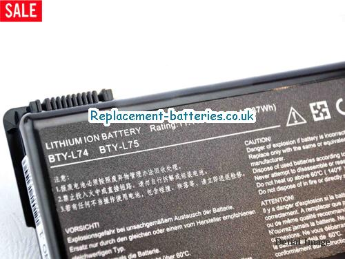 image 2 for  BTY-L75 laptop battery
