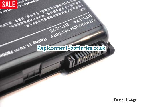 image 3 for  BTY-L75 laptop battery
